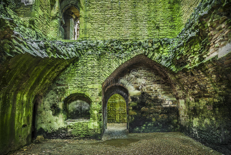 Grodowa ruina zdjęcie royalty free