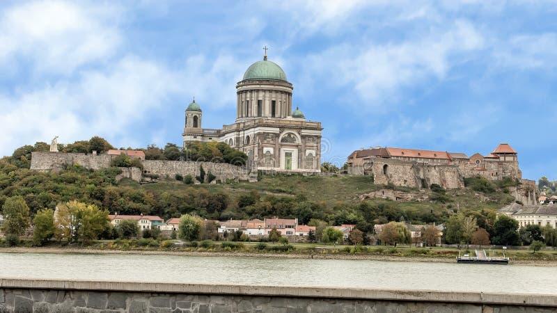 Grodowa wzgórze panorama od Sturovo, Sistani obraz royalty free