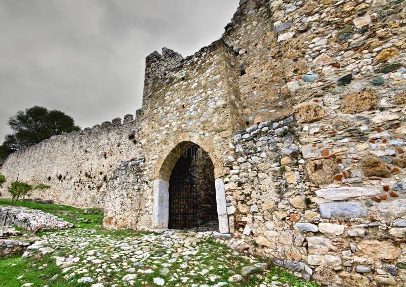 grodowej ery Europe średniowieczni południe obraz stock