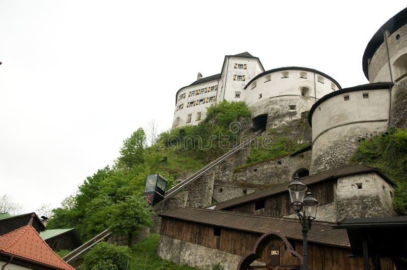 grodowej windy forteczny kufstein fotografia stock
