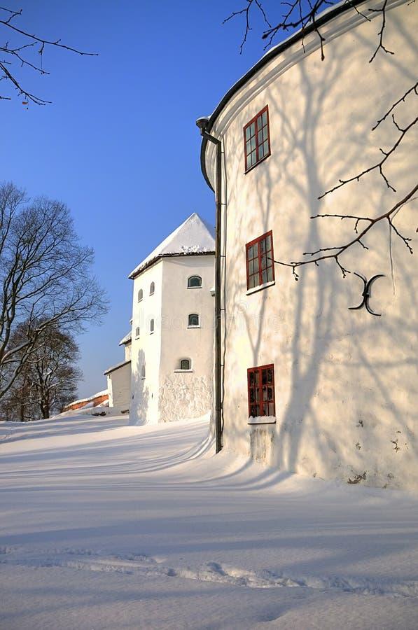 grodowy śnieg zdjęcia royalty free