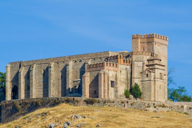 grodowy Aracena forteca zdjęcia stock