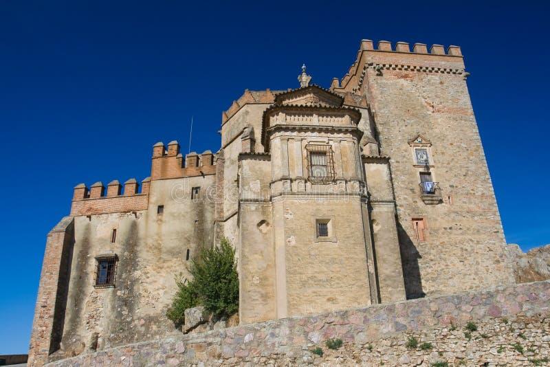 grodowy Aracena forteca obraz royalty free