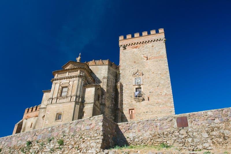 grodowy Aracena forteca zdjęcia royalty free