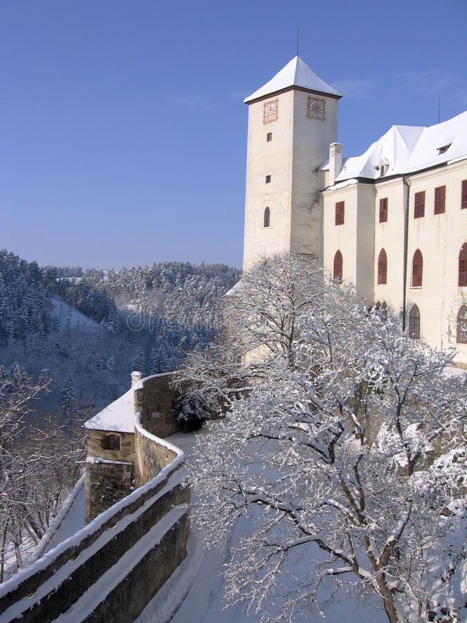 Grodowy Bitov, Republika Czech, Europa obraz royalty free