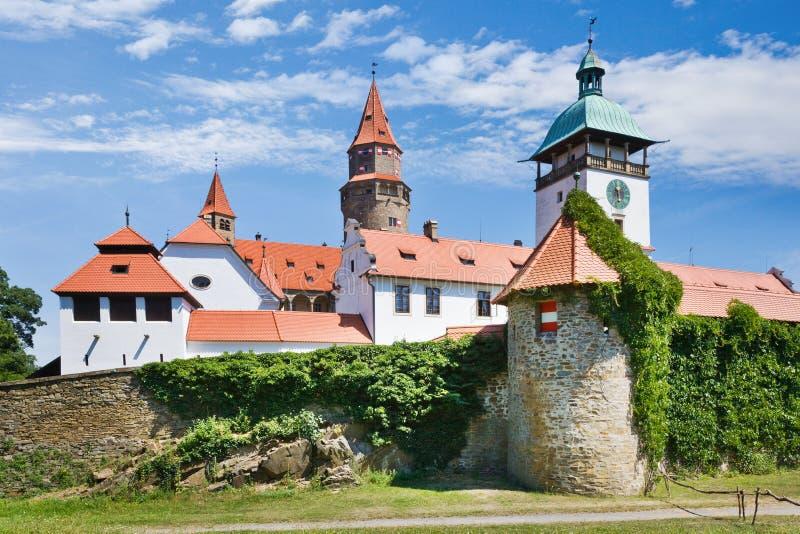 Grodowy Bouzov, Południowy Moravia region, republika czech obrazy royalty free