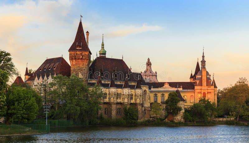 grodowy Budapest vajdahunyad zdjęcia stock