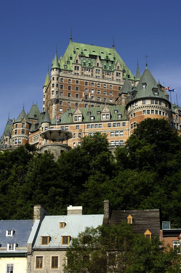 grodowy Canada frontenac Quebec fotografia stock