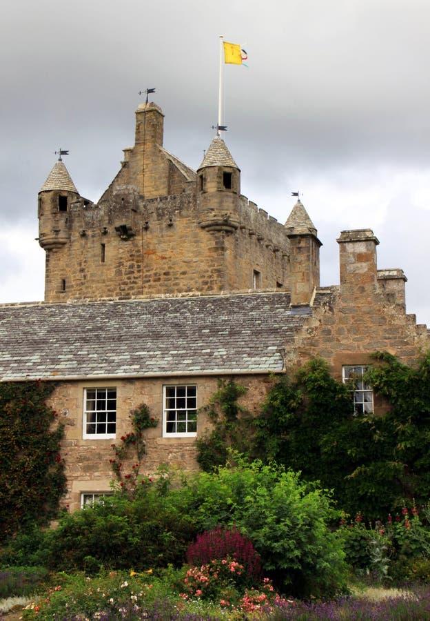 grodowy cawdor Scotland zdjęcie stock