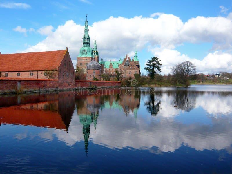 grodowy Denmark Frederiksborg zdjęcie stock