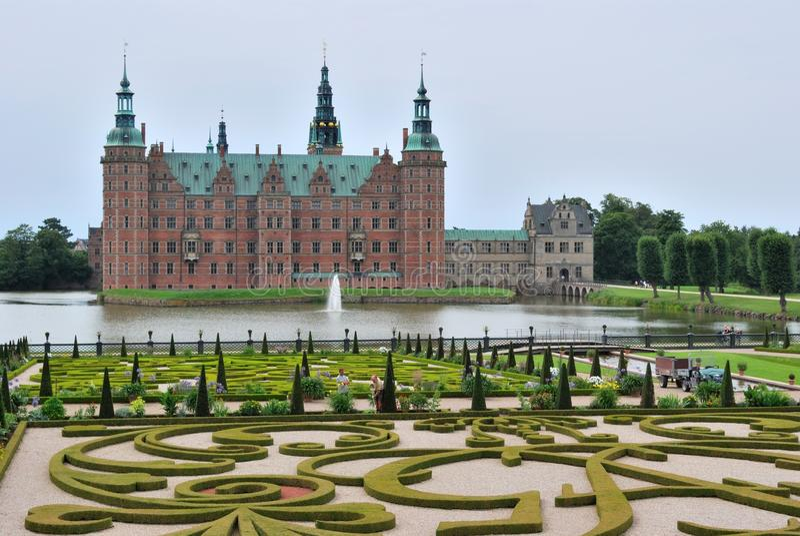 grodowy Denmark Hillerod obrazy royalty free
