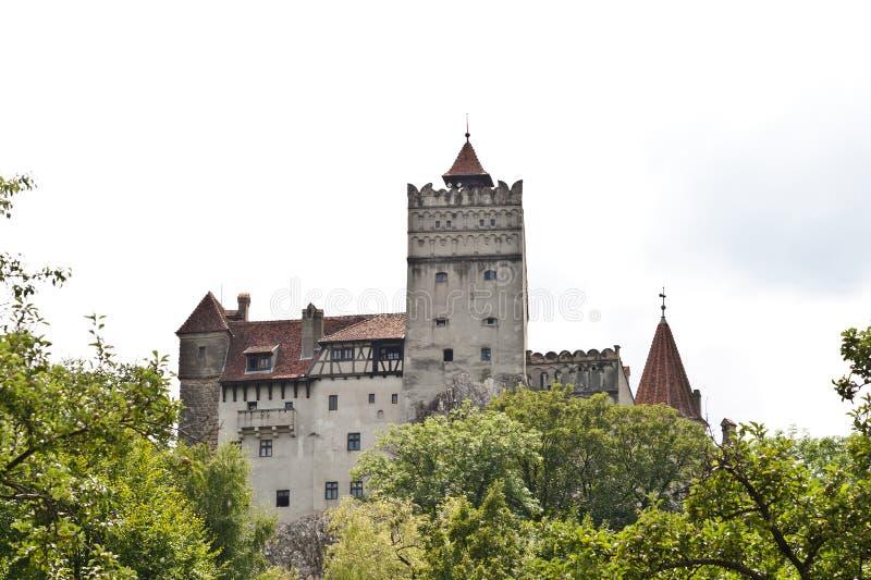 grodowy Dracula s Transylvania fotografia royalty free