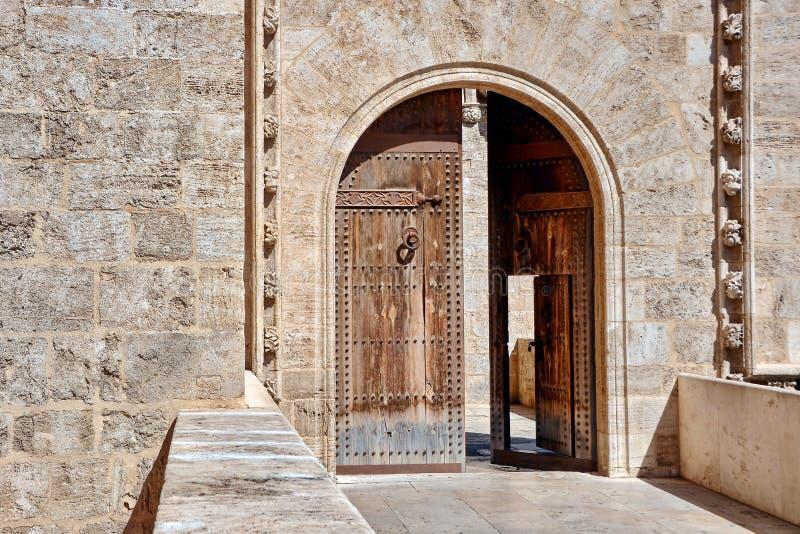 Grodowy drzwi zdjęcie stock