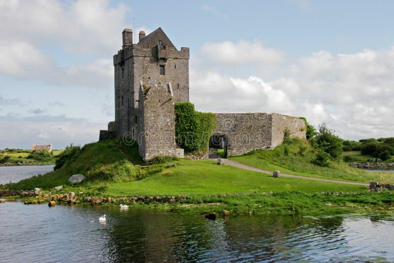 grodowy dunguaire Ireland zdjęcie stock