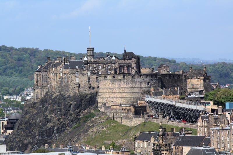 grodowy Edinburgh zdjęcie royalty free