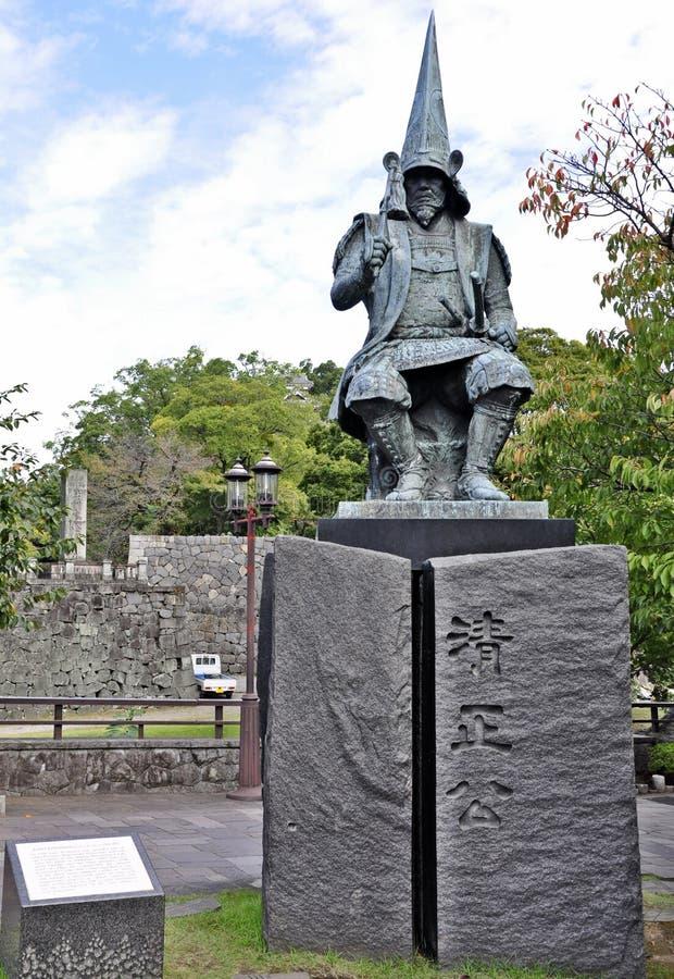 grodowy generał Japan Kumamoto zdjęcie royalty free