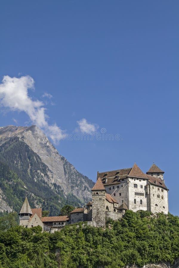 Download Grodowy Gutenberg W Balzers Obraz Stock - Obraz złożonej z pośrednik, szwajcaria: 57664927
