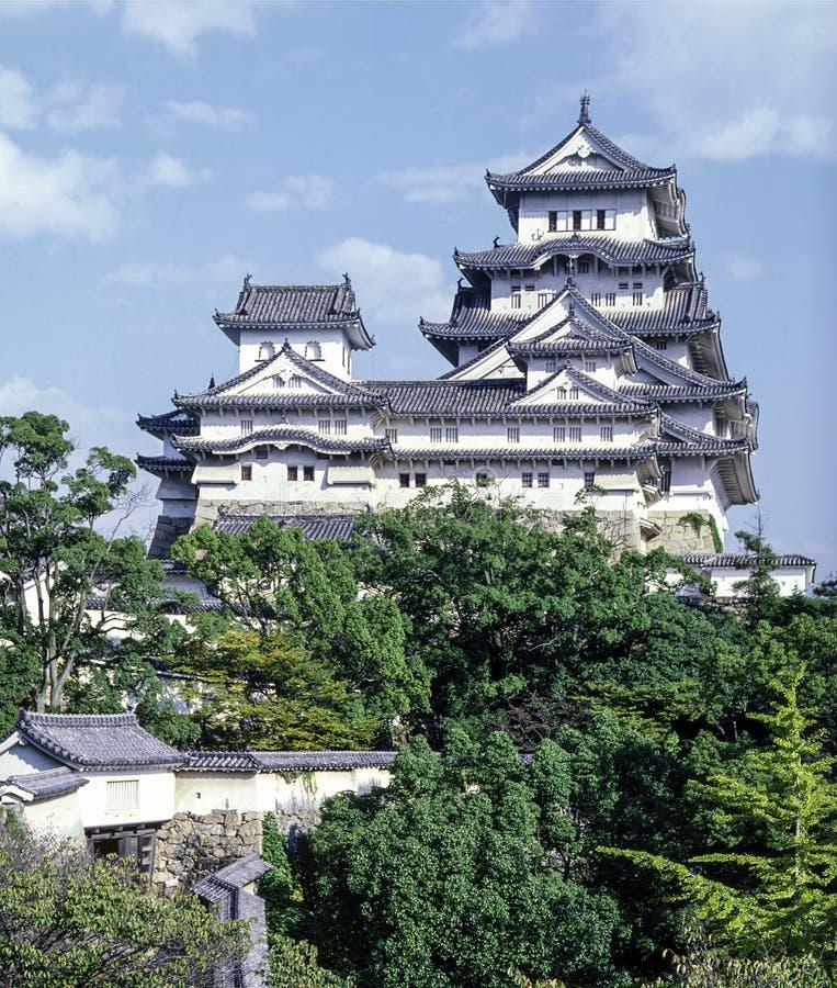 grodowy Himeji Japan zdjęcie stock