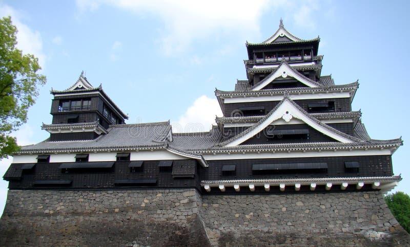 grodowy Japan Kumamoto zdjęcie stock