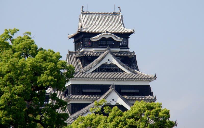 grodowy Japan Kumamoto obrazy stock