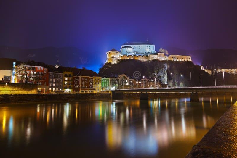 Grodowy Kufstein w Austria zdjęcia stock