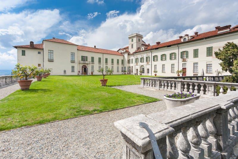 Grodowy Masino; Podgórski; Włochy; Turyn, zdjęcia royalty free