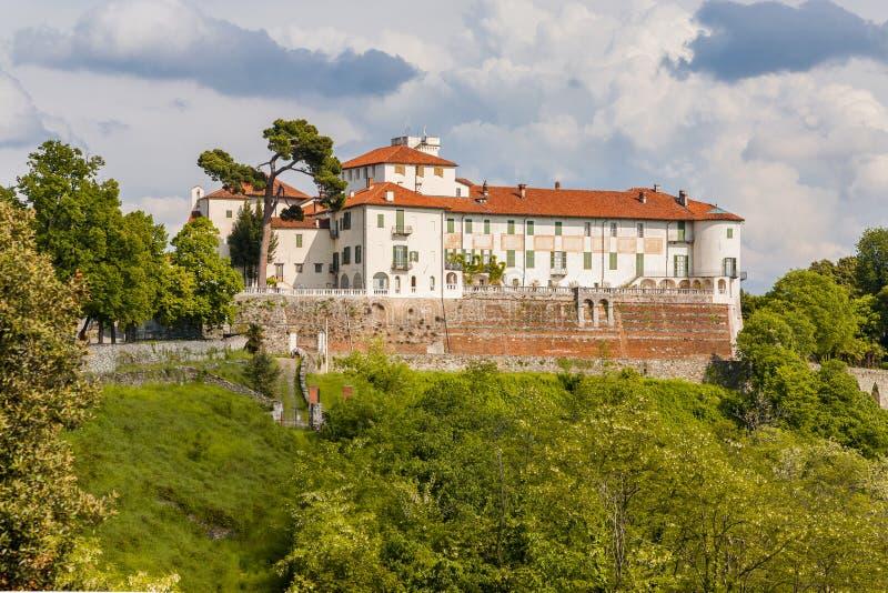 Grodowy Masino; Podgórski; Włochy; Turyn, fotografia stock