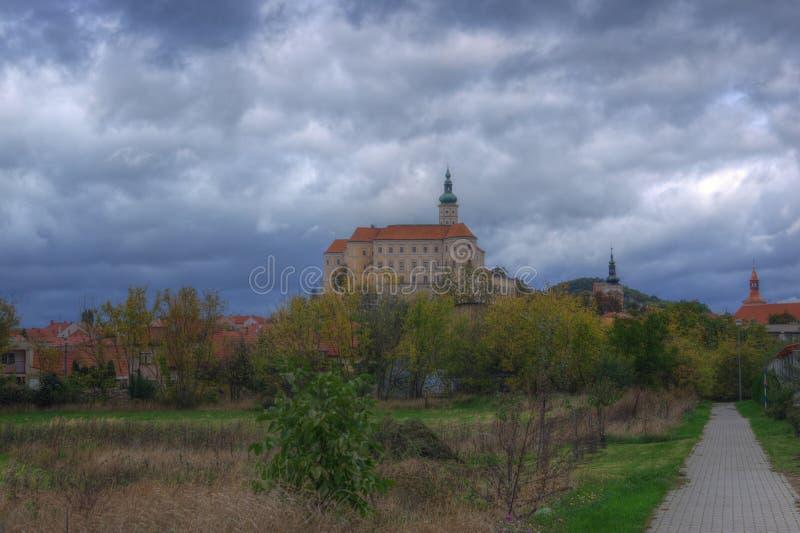 Grodowy Mikulov, Moravia, republika czech fotografia stock