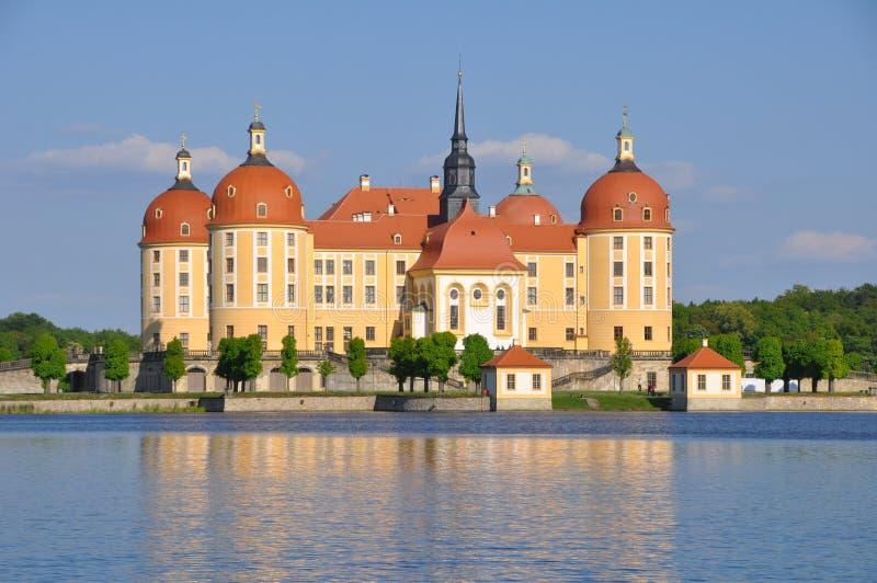 Grodowy Moritzburg Saxony zdjęcie stock