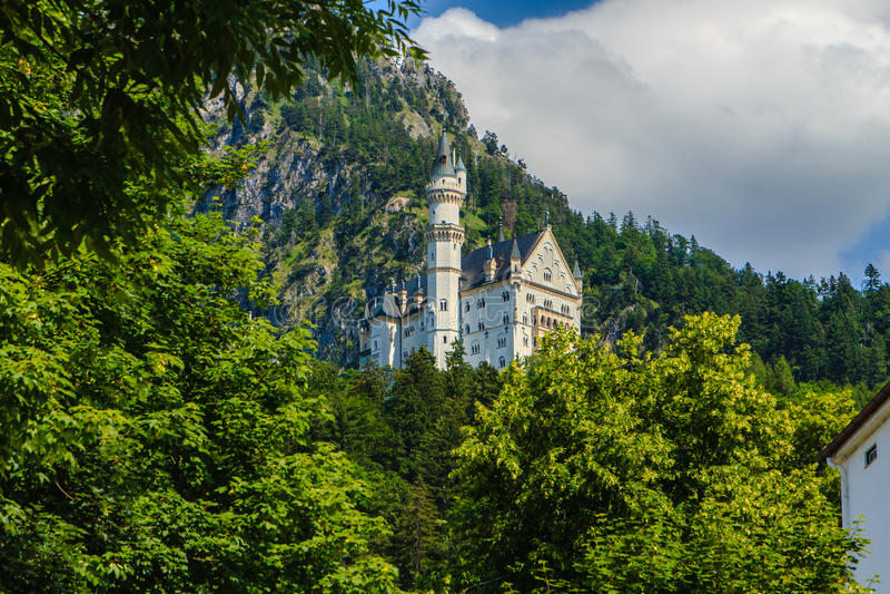 Grodowy Neuschwanstein obraz royalty free