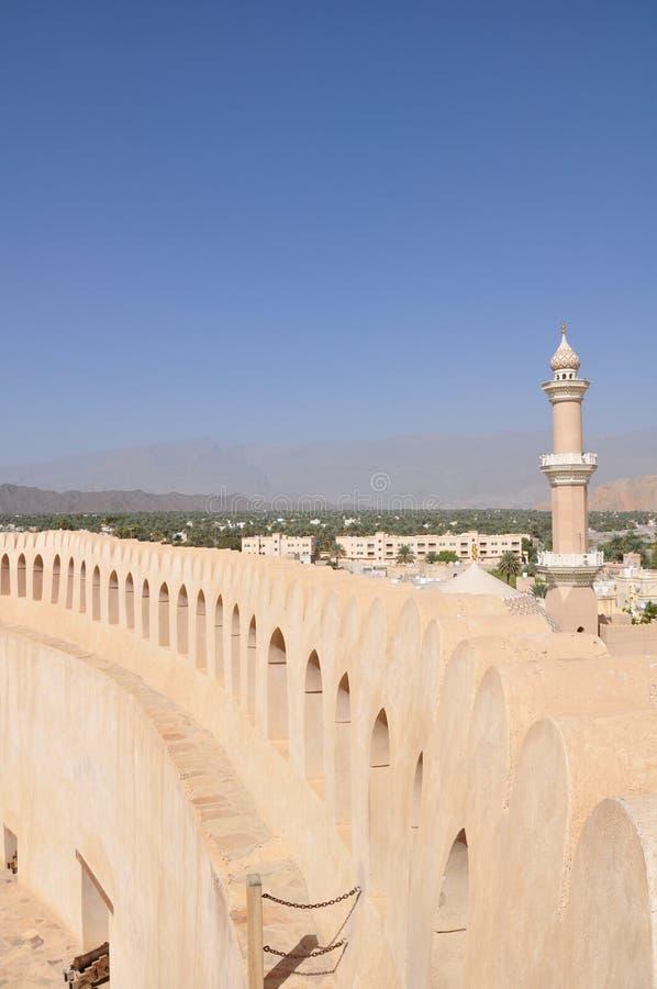 grodowy nizwa Oman zdjęcie royalty free