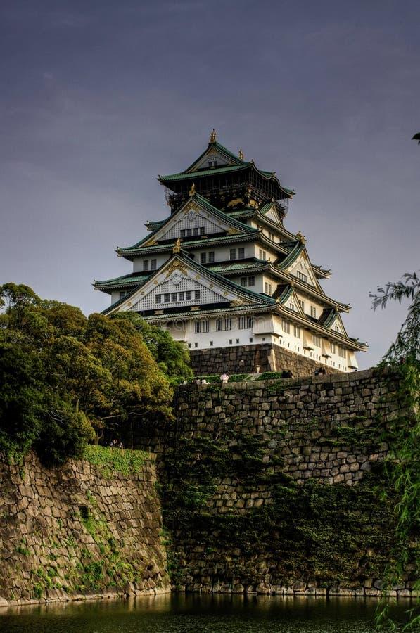 grodowy Osaka fotografia stock