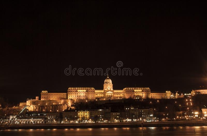 Grodowy pałac w Budapest zdjęcia royalty free