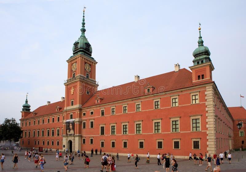 grodowy Poland królewski Warsaw obraz stock