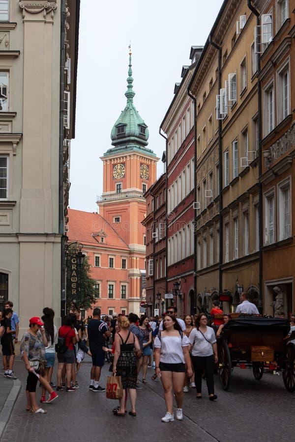 grodowy Poland królewski Warsaw fotografia stock