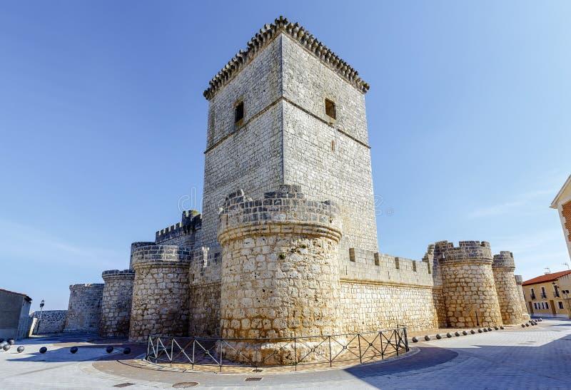 Grodowy Portillo Hiszpania zdjęcia stock
