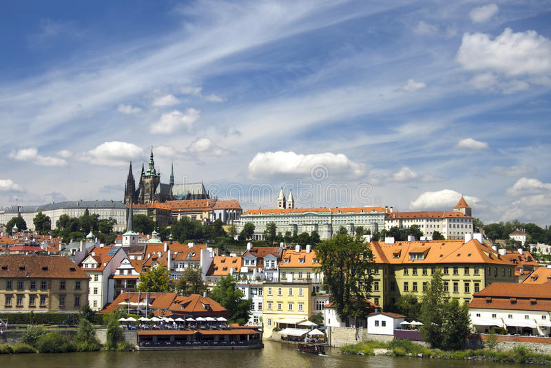 grodowy Prague obrazy royalty free