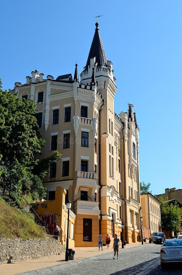 Grodowy Richard lwa serce, Kijów zdjęcia stock