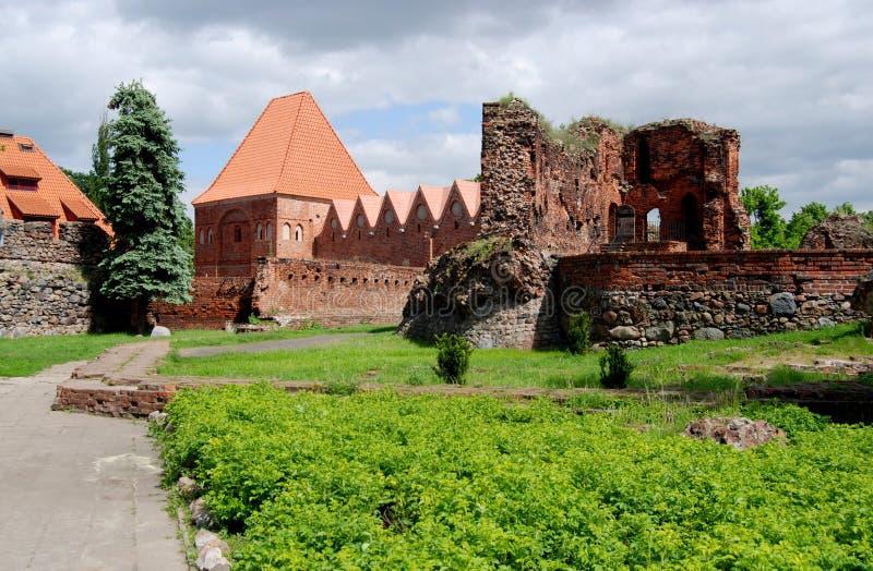 grodowy rycerz Poland s grodowy Torun obraz royalty free