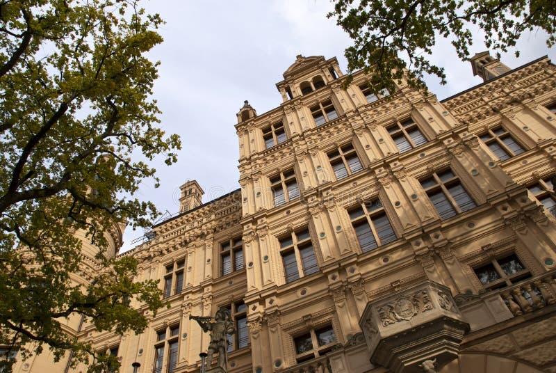 grodowy Schwerin fotografia royalty free