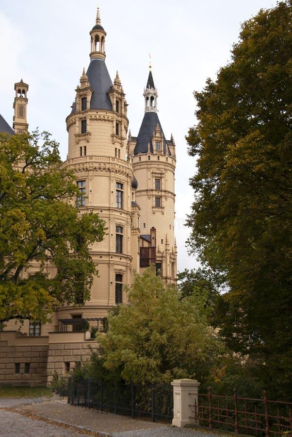 grodowy Schwerin zdjęcie stock