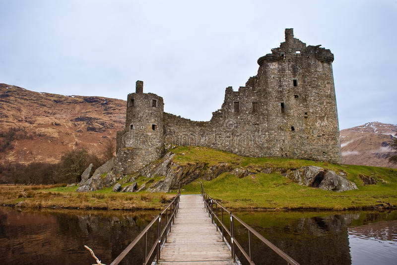 grodowy Scotland obrazy royalty free
