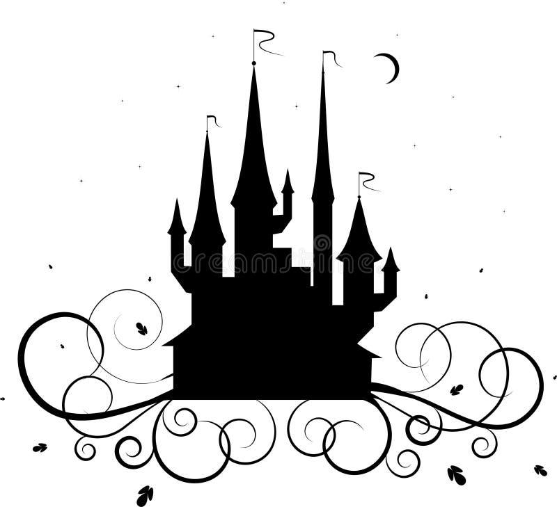 grodowy tatuaż royalty ilustracja