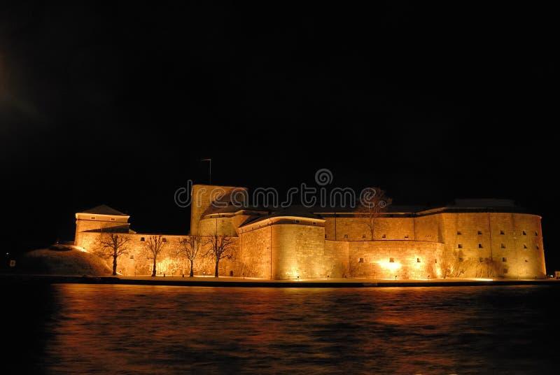 grodowy vaxholm zdjęcia royalty free