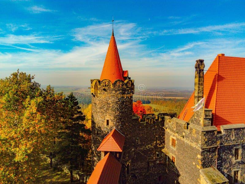 Grodza kasztel - bastion zdjęcia royalty free