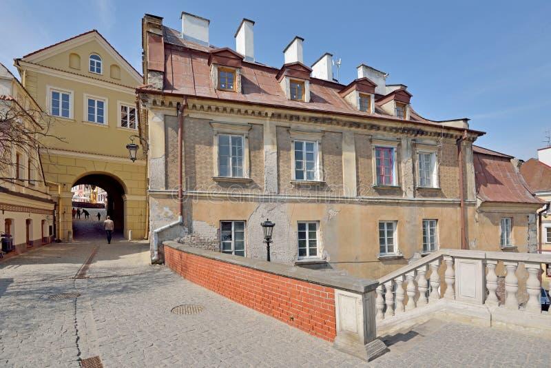Grodzka brama w Lublin, Polska fotografia royalty free