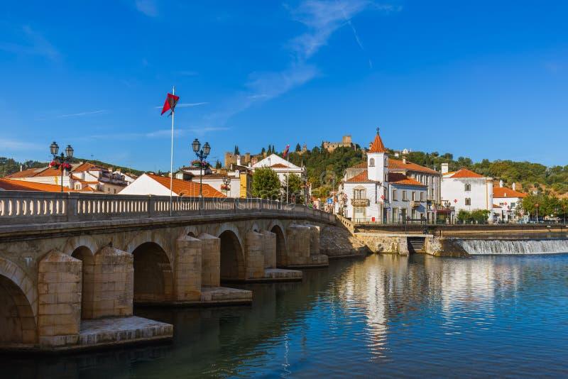 Grodzki Tomar, Portugalia - zdjęcie stock