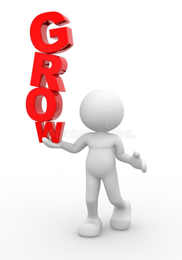 Groei stock illustratie