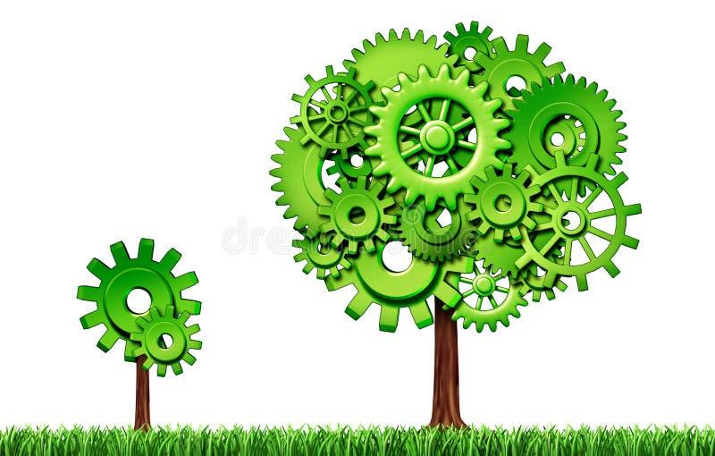 Groeiende economie vector illustratie