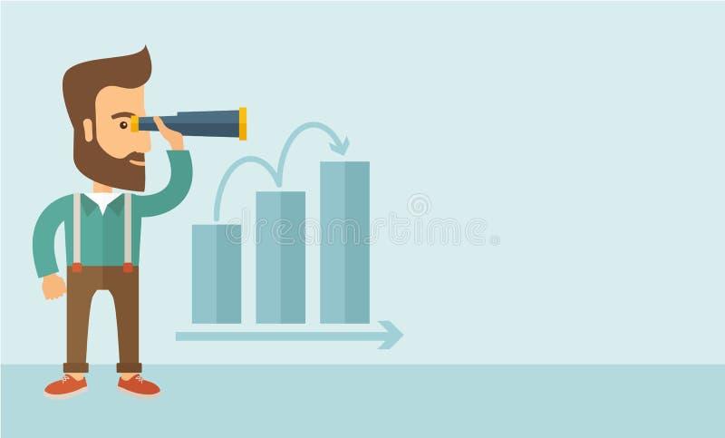 Groeiende zaken vector illustratie
